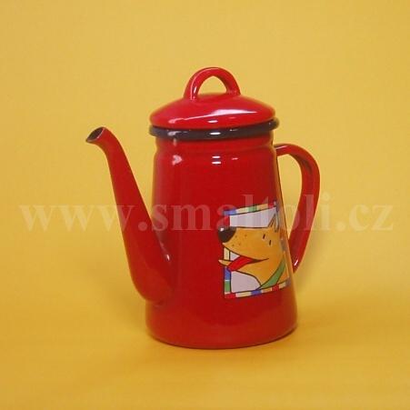 Smaltovaný čajník